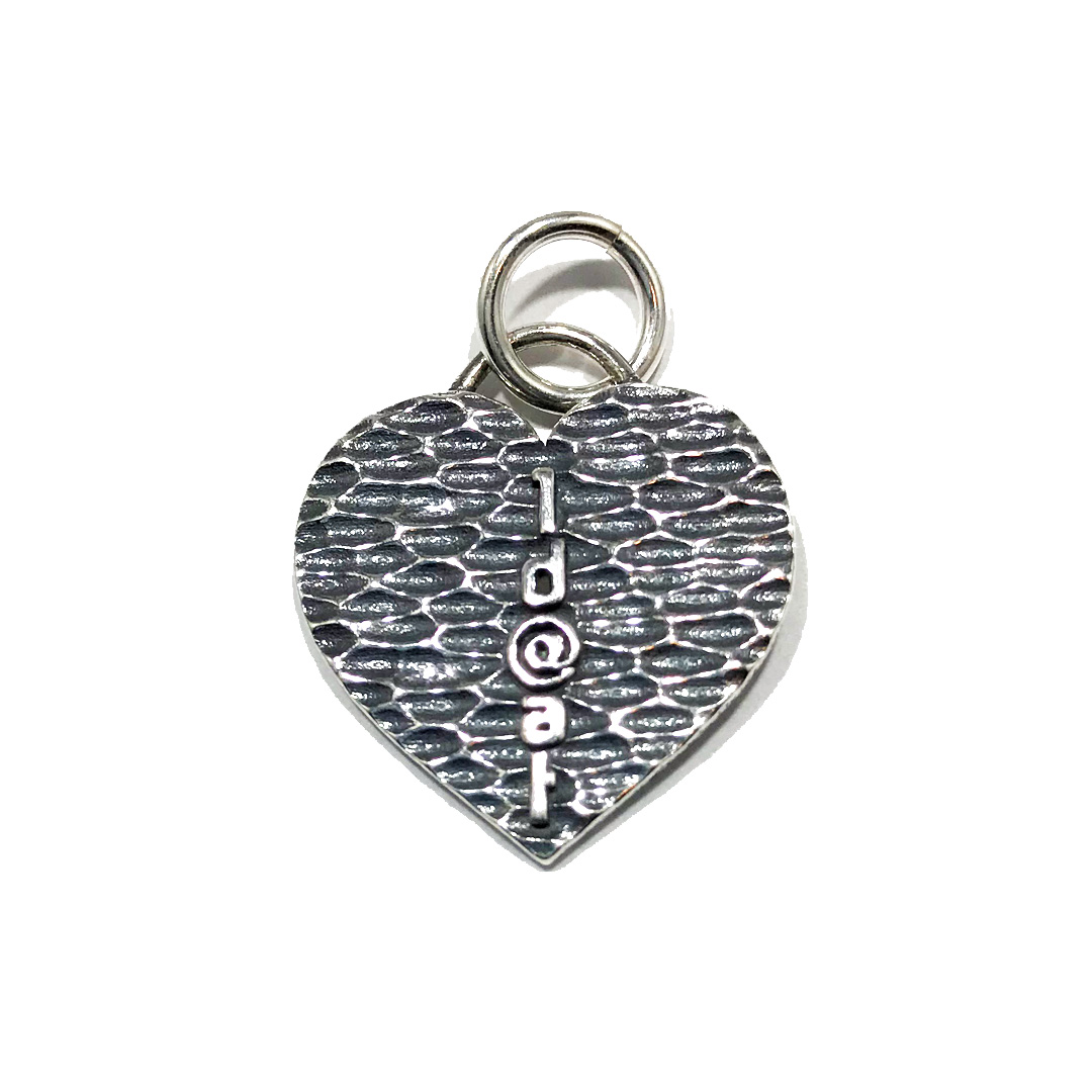 Large Heart OD@AT Charm/Pendant