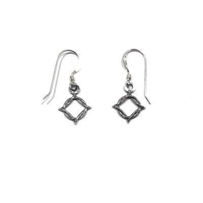NA Weaved Symbol Earrings
