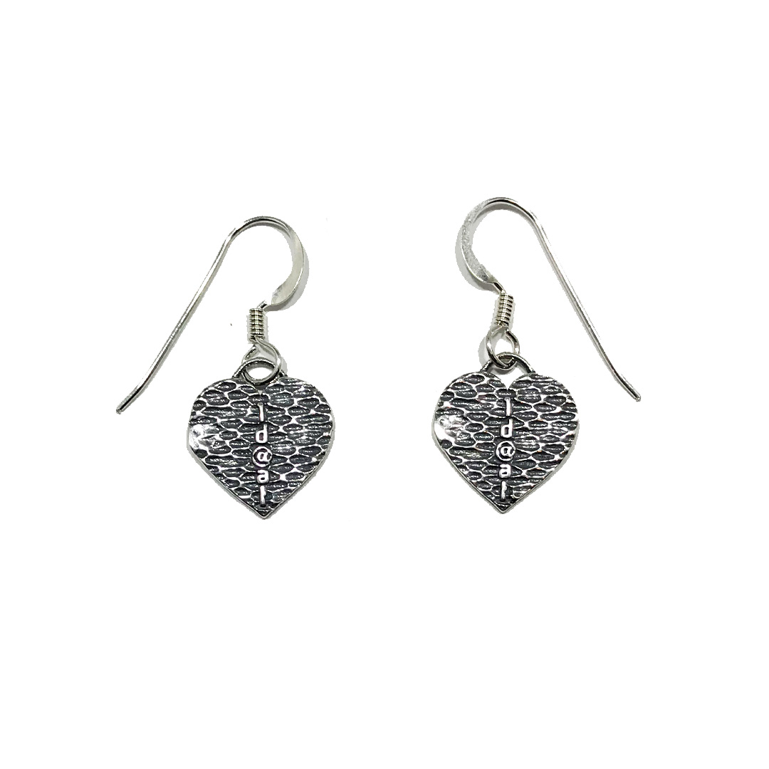 OD@AT Heart Earrings