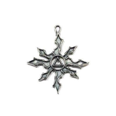 Tribal Sun Charm/Pendant