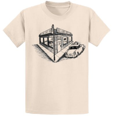 New! Bill and Bob's Coffee Shop Natural Tee