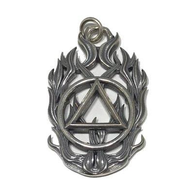 Symbol Flame Pendant – AA