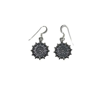 Floral Sunburst Earrings