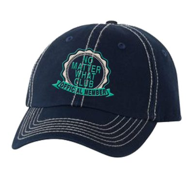 No Matter What Club Navy Hat