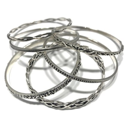 New Stackable Spacer Bracelets