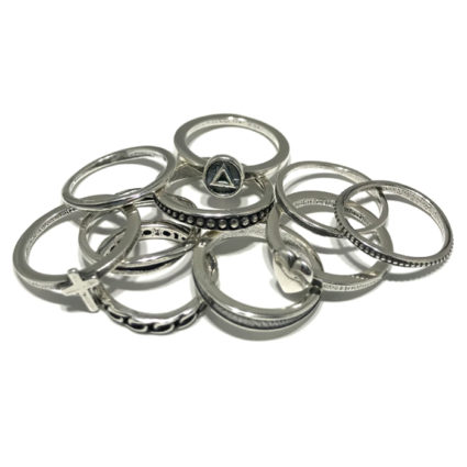 New Stackable Spacer and Button Rings