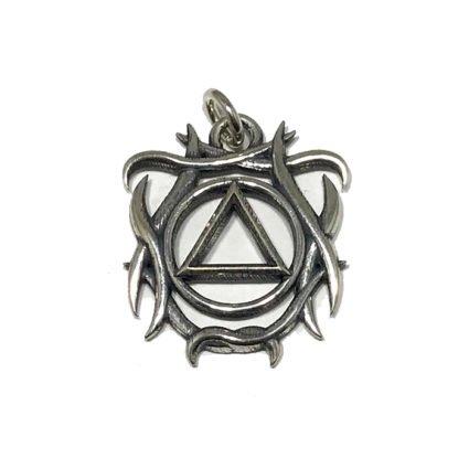 Tribal AA Symbol Pendant