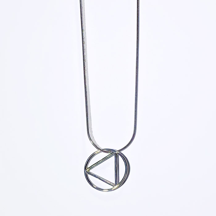 New! Medium Plain Wire Pendant