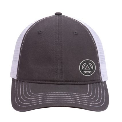 New Side Symbol Mesh Hat – Charcoal